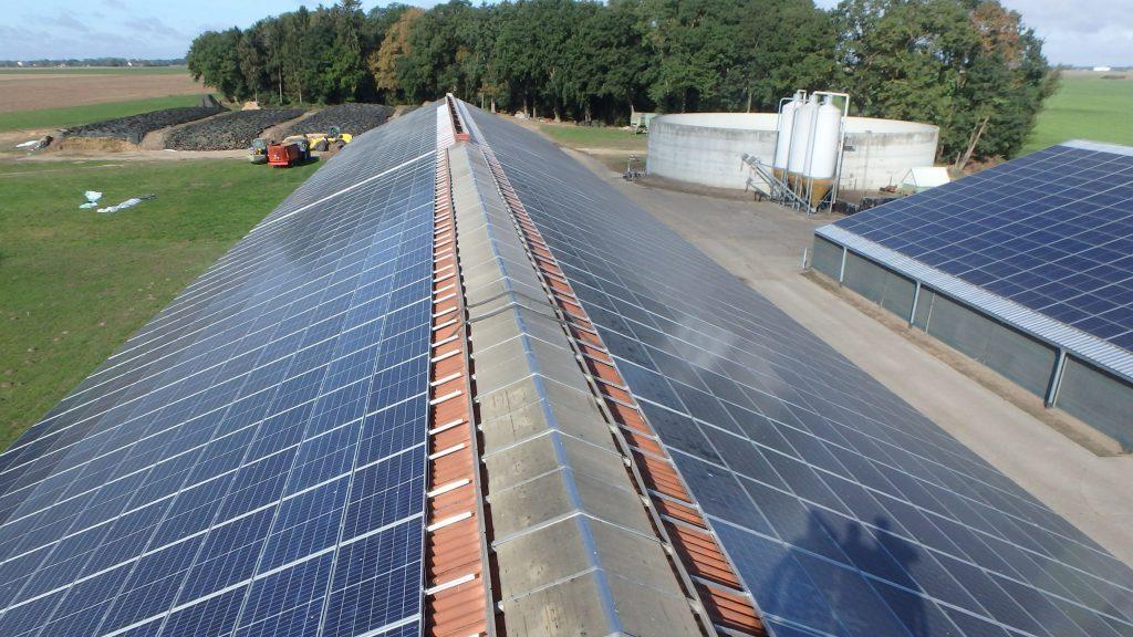 Dachanlage mit 316 kWp