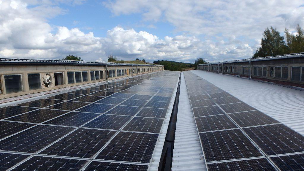 Dachanlage mit 94 kWp